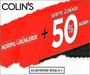 Elbiselerinizi Colin's'ten çevrimiçi satin alin